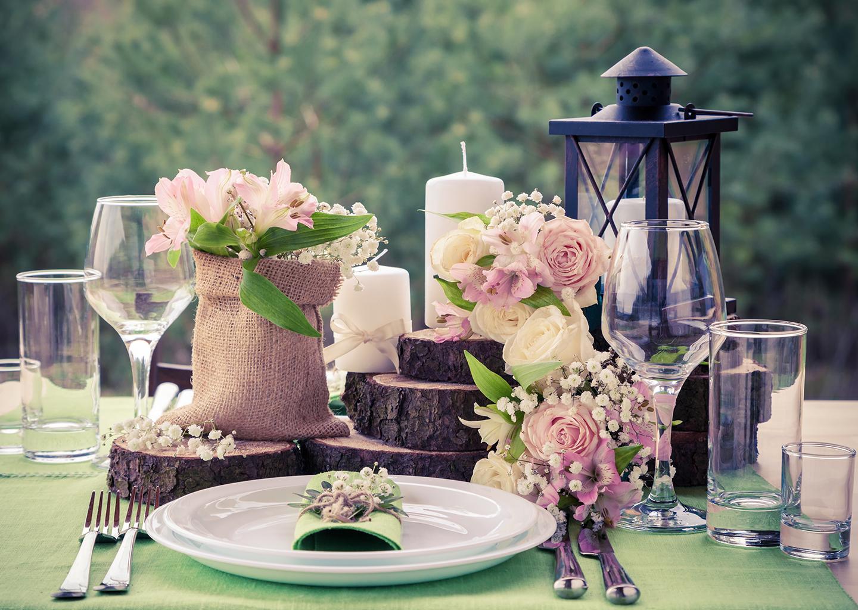 Düğün Organizasyon Malzemeleri Şamdan, Mumluk ve Masa Süslemeleri