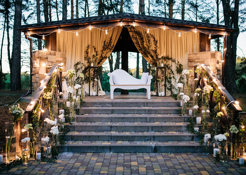 Düğün Organizasyon Malzemeleri Nikah Kürsüsü ve Gazebo