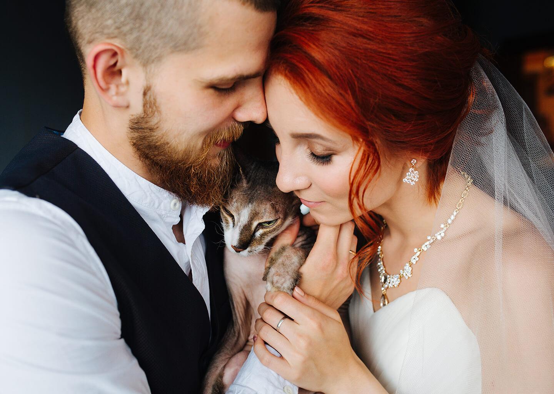 Aslan burcuna göre düğün konsepti önerisi, mutlu ve romantik çift